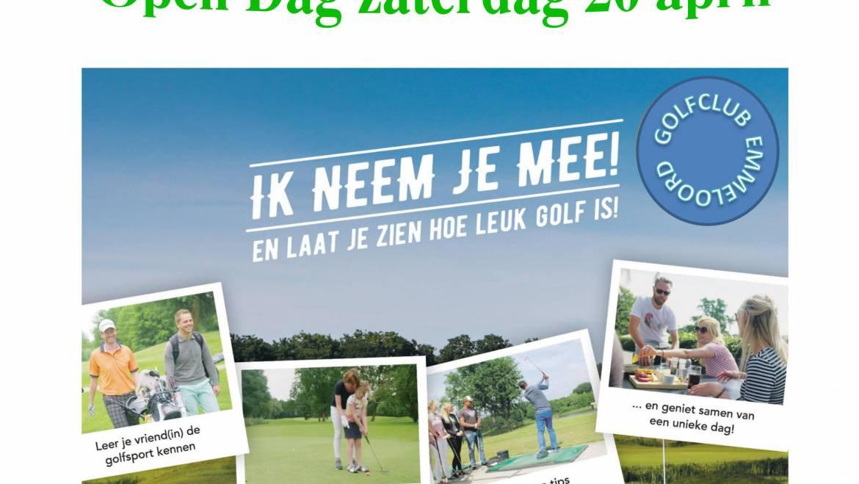 Open golfdag 20 april