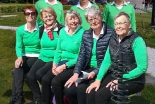 Dames senioren wint poule!